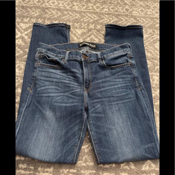 Express mid rise skinny jeans Sz 10